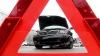 ACCIDENT HORROR! Şoferul a zburat din maşină (VIDEO ŞOCANT)
