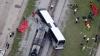 SUA: Tragedie pe o trecere de cale ferată! Un tren a lovit din plin un autocar plin cu oameni