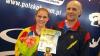 Iulia Leorda, câștigătoarea medaliei de bronz la competiția din Ungaria