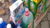 Se vindeau pe o stradă din Capitală. Detergenţi şi produse cosmetice contrafăcute, confiscate de poliţişti