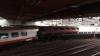Elveția: Tren internațional deraiat în gara din Lucerna, mai multe persoane rănite