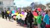 Marş pentru viaţă la Orhei. Zeci de oameni au participat la un marș împotriva avortului