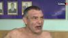 Şi-a umplut de sânge soţia şi i-a înjurat pe poliţişti! Cum a fost calmat un bărbat de la Ciocana (VIDEO)