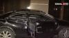 Un bărbat a derapat cu maşina de pe carosabil şi a ajuns în pragul Serviciului Stare Civilă (VIDEO)