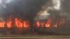 INCENDIU DEVASTATOR la o gară din Timişoara! Mai multe vagoane au fost cuprinse de flăcări (FOTO/VIDEO)