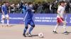 Diego Maradona face spectacol pe terenul de fotbal şi la vârsta de 56 de ani