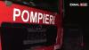ALERTĂ DE INCENDIU în sectorul Centru al Capitalei. O saună a fost cuprinsă de flăcări (VIDEO)