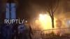 VIOLENȚE la protestul din capitala Franței. Trei membri ai forțelor de ordine, răniți (VIDEO)