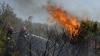 ALARMANT! Aproape 130 hectare de teren cu vegetație uscată au ars în Moldova (VIDEO)