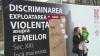 Zeci de oameni, poliţişti şi reprezentanţi ai ambasadelor de la Chişinău au condamnat violența în familie prin dans