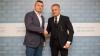 """Sportivul Ion Lazarenco a avut o întâlnire cu fondatorul Fundaţiei """"Edelweiss"""", Vlad Plahotniuc (FOTO)"""