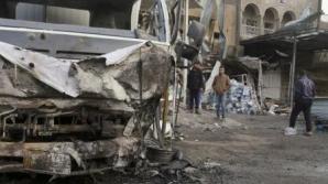 ATENTAT SINUCIGAŞ la Bagdad: Mai multe automobile au luat foc! 17 persoane au murit
