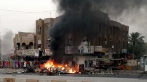 Un nou atentat în Irak. O maşină-capcană a explodat în faţa unei secţii de poliţie