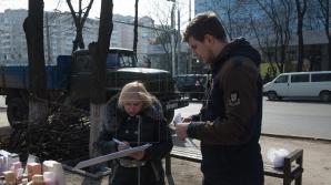 A început campania naţională de colectare a semnăturilor pentru votul uninominal. Ce spun oamenii