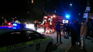 Accident nocturn la Bălţi: O tânără a fost lovită pe trecerea de pietoni (FOTO)
