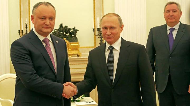 Igor Dodon s-a întâlnit cu Vladimir Putin. Despre ce au discutat