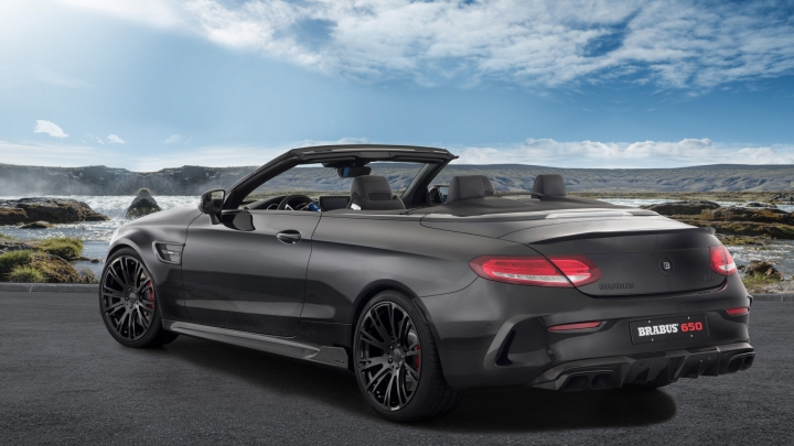 BIJUTERIE pe PATRU ROŢI! Brabus a lansat un Mercedes-AMG C63 S Cabrio de 650 de cai (VIDEO)