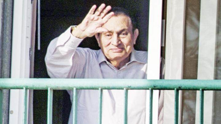 Fostul președinte egiptean Hosni Mubarak a fost eliberat