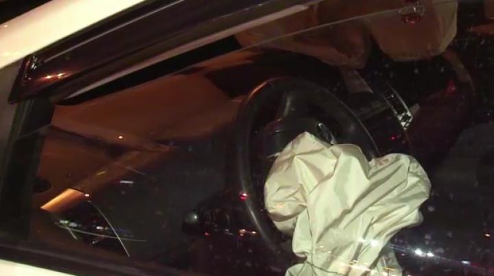 ACCIDENT VIOLENT. Două mașini s-au ciocnit în sectorul Botanica al Capitalei (VIDEO)