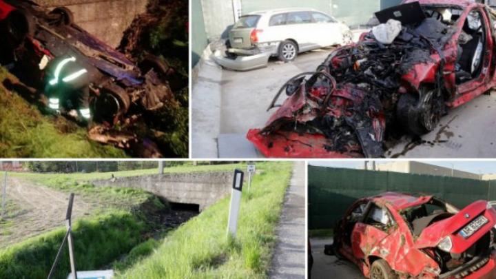 Tragedie din teribilism: un mort și 7 răniți după ce un șofer a intrat cu mașina prin gardul firmei