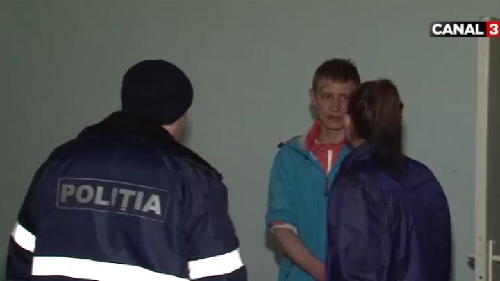 Un cuplu din Capitală a ajuns pe mâna poliţiei. L-au bătut pe un bărbat PÂNĂ LA SÂNGE (VIDEO)