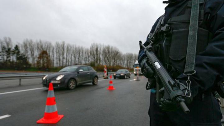 O mașină plină cu butelii a fost găsită în centrul Bruxellesului