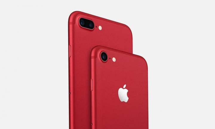Apple surprinde din nou! iPhone 7 se livrează acum şi în CULOAREA ROŞIE (FOTO)