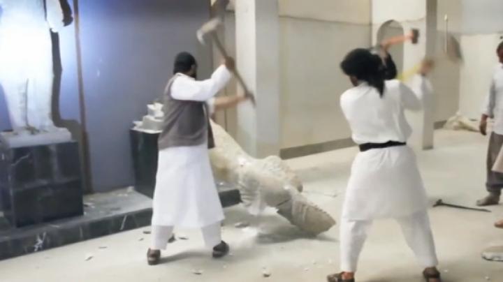 Forțele irakiene au preluat controlul asupra muzeului din Mosul, vandalizat în trecut de ISIS