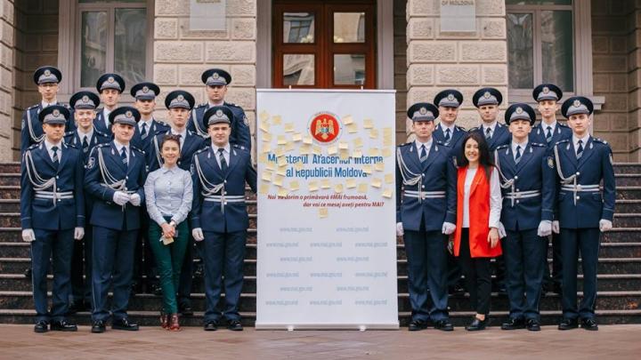 Ministerul Afacerilor Interne a vestit sosirea primăverii şi a primit mesaje de felicitare de la cetăţeni (FOTO)