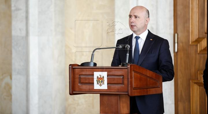 Pavel Filip: Îmi doresc foarte mult ca Republica Moldova să se regăsească, alături de România, în marea familie a UE (VIDEO)
