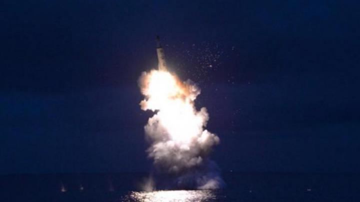 EŞEC al unui test cu rachetă efectuat de Coreea de Nord