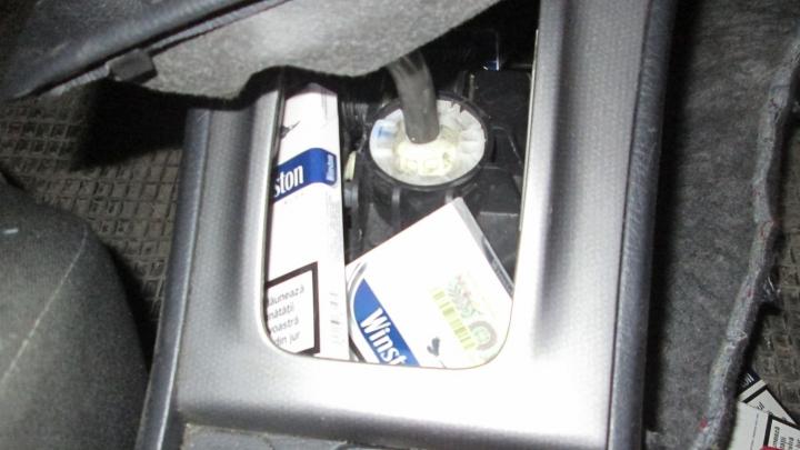 Contrabandă de proporții cu țigări. Unde au fost ascunse (FOTO)