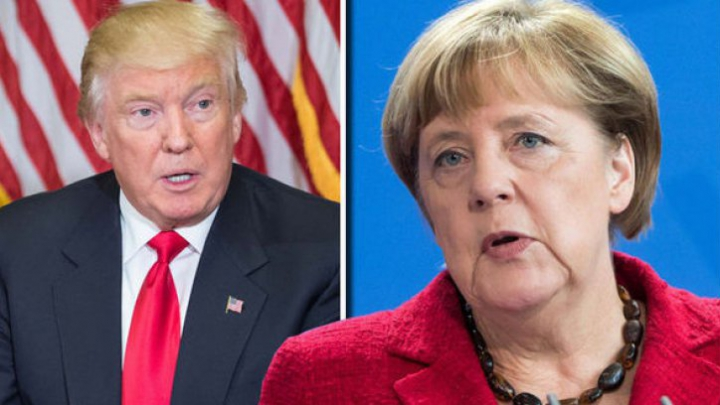 Întâlnire crucială în Statele Unite. Donald Trump și Angela Merkel, față în față. Ce vor discuta
