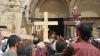 Mii de pelerini au mers la Ierusalim pentru a reface Drumul Crucii, parcurs de Hristos înainte de a fi răstignit