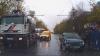 Plouă cu accidente în Chișinău. Două mașini s-au lovit frontal la Botanica (VIDEO)