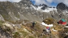 Ciclism extrem în vârf de munte. Eric Porter şi Kevin Murphy au făcut faţă noii provocări