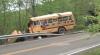 ACCIDENT CUMPLIT, provocat de... un cerb! Un autobuz cu elevi a ajuns într-o râpă