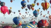 PRIVELIŞTE DE BASM! Au traversat Canalul Mânecii în 80 de baloane cu aer cald, RECORD pentru o zi