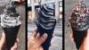 Ai mânca așa ceva? Înghețata neagră, cel mai la modă capriciu pentru cei cu gusturi morbide (FOTO)