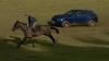 CURSĂ OFF-ROAD! Maserati Levante se ia la întrecere cu un cal de curse (VIDEO)