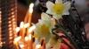 De Florii, creştinii din ţară au mers la biserică să se împărtăşească şi să sfinţească flori