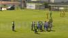 Procedeu de K-1 pe terenul de fotbal. Un fotbalist portughez l-a lovit cu genunchiul în figură pe arbitru (VIDEO)