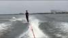 RĂZBUNAREA PEŞTILOR. Ce a păţit un amator de ski nautic (VIDEO VIRAL)