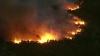 Incendiu devastator de vegetaţie în SUA. Flăcările se extind ameninţător