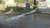 Inundaţii la Comrat: Zeci de gospodării, inundate iar nivelul apei a ajuns până la un metru