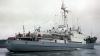 O navă a eșuat, într-un port din Polonia, după ce s-a prăbușit o macara peste ea