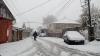 Ninsori abundente şi răcire bruscă a vremii în toată ţara. Cum au intervenit autoritățile