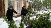 Tinerii democrați au dat o mână de ajutor la deszăpezire, în Capitală și în toate orașele afectate de intemperii