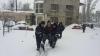 Peste 2000 de polițiști și angajați ai MAI au intervenit pentru acordarea ajutorului în urma ninsorilor