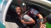 Instructorul moldovean de paraşutism Anatolie Kravchenko şi actorul Will Smith, în cădere liberă (VIDEO)